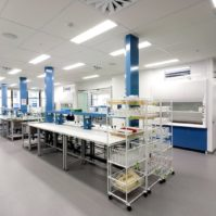 pharmaceutical lab